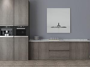 家具饰品组合厨柜模型3d模型