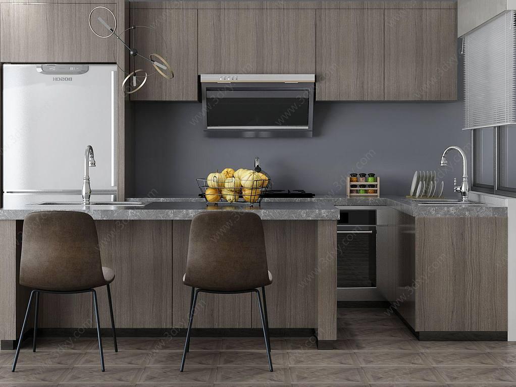 家具饰品组合厨房