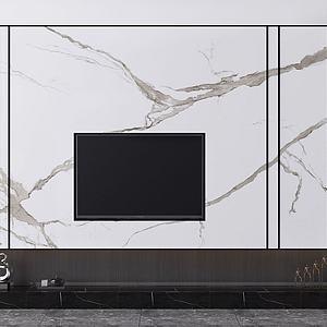 電視背景墻3d模型