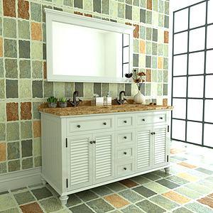美式乡村浴室柜3d模型