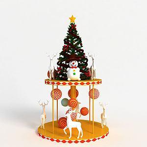 3d<font class='myIsRed'>圣诞</font>装饰品模型