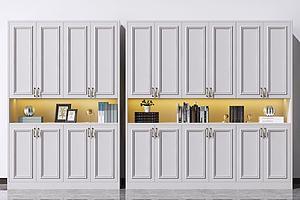 歐式鞋柜模型3d模型