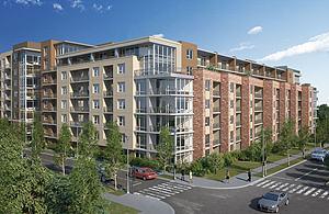 现代商品楼建筑外观模型3d模型
