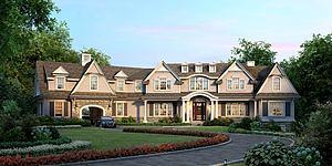 欧式独栋别墅模型3d模型