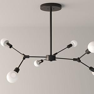 铁艺灯3d模型