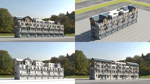 仿古建筑模型3d模型