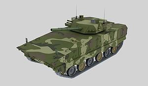 步兵战车模型3d模型