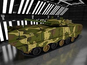 步兵戰車模型3d模型