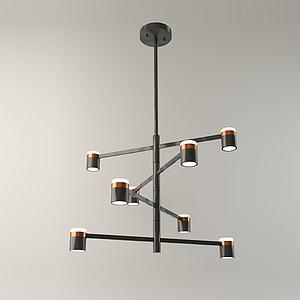 北欧装饰灯3d模型