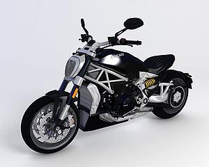 ?杜卡迪2016款摩托車模型3d模型