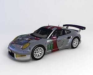 ?保时捷 911 Carrera模型3d模型