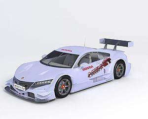 本田 NSX Concept-GT模型3d模型