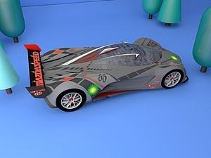 馬自達Mazda汽車模型3d模型