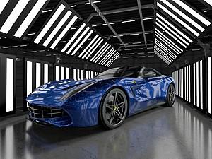 法拉利跑車模型3d模型
