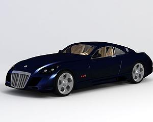 迈巴赫-Exelero模型3d模型
