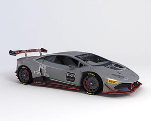 兰博基尼 2015款模型3d模型