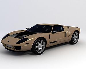 福特Ford GT40模型3d模型