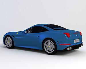 法拉利 2015款模型3d模型