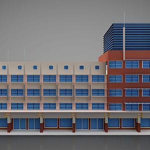 現代建筑風格3d模型