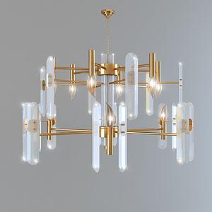 水晶吊燈3d模型