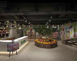 水果店水果超市模型3d模型