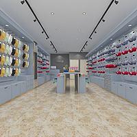 簡約內衣服裝店