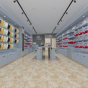 简约内衣服装店3d模型