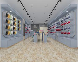 簡約內衣服裝店模型3d模型