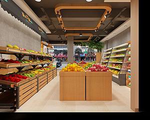 水果店模型3d模型