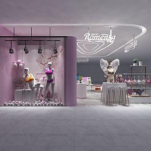 内衣店3d模型