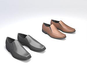 男鞋模型3d模型