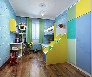 現代小孩房模型3d模型