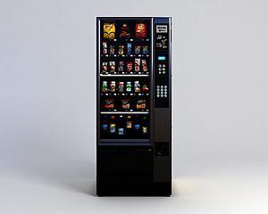 超市冷藏柜模型3d模型