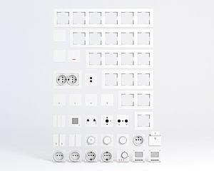 開關面板模型3d模型