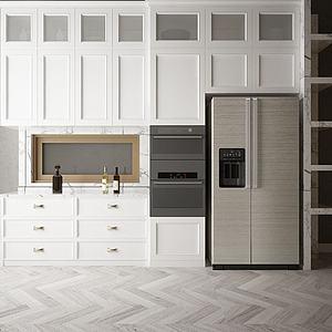 廚柜模型3d模型