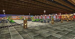 走廊模型3d模型