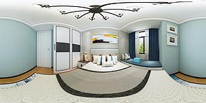 客廳臥室模型3d模型