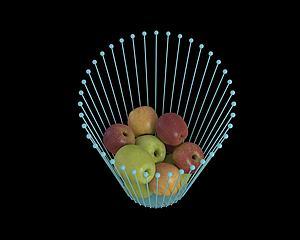 蘋果模型3d模型