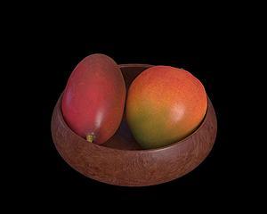 水果芒果模型3d模型