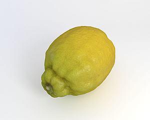 水果檸檬模型3d模型