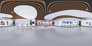 路姐展廳模型3d模型