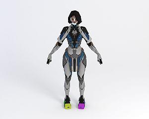 游戲角色模型3d模型