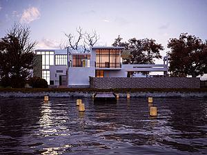 别墅模型3d模型