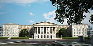 白宫建筑模型3d模型
