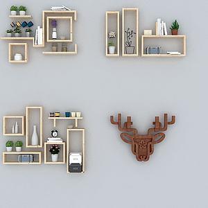 装饰墙架3d模型