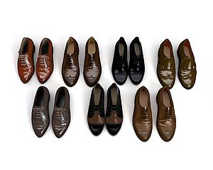 鞋子模型3d模型