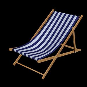 太陽椅3d模型