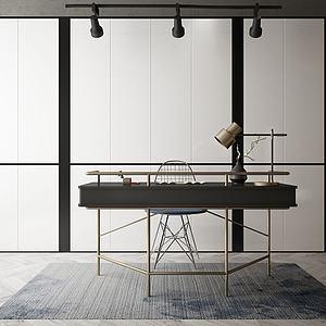 办公桌模型3d模型