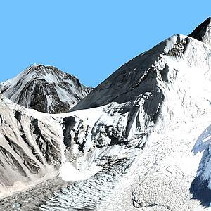 珠峰3d模型