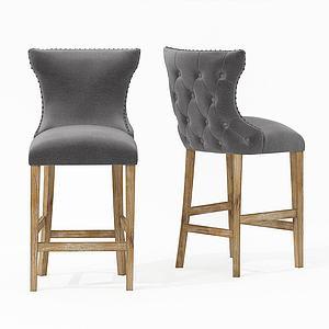 现代休闲椅单椅模型3d模型